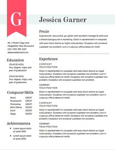 resume template cv template the ashley roberts resume design