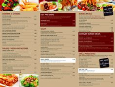 Iconic Lowestoft Food Menu- Frontlineweb website design Lowestoft
