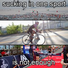 Sucking in one sport is not enough