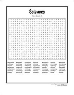 hard science word search printable puzzle 2 features 49 science