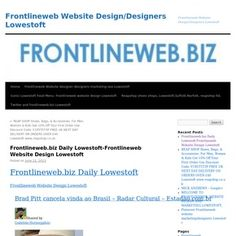 Frontlineweb.biz Daily Lowestoft-Frontlineweb Website Design Lowestoft
