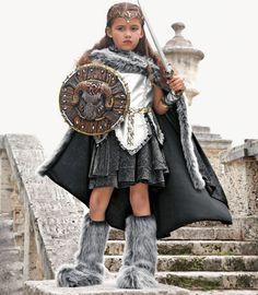 Halloween 2013 warrior girl costume - Chasing Fireflies