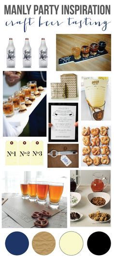mint love social club: {party inspiration: craft beer tasting party}