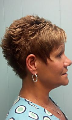 Image Result For Short Hair Spiked In Front