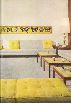 60s Interiors On Pinterest Mid Century Modern Mid