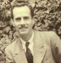 McLuhan in 1937, the year that he converted to Catholicism & Finnegan's Wake was published.
