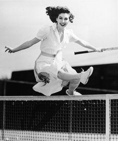 tennis net jump
