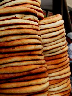 Sheermal is a mildly sweet Iranian Naan made out of Maida (All-purpose flour), leavened with yeast, baked in tandoor or oven. In the olden days, it was made just like roti. The warm water in the recipe for roti was replaced with warm milk sweetened with sugar and flavored with saffron. Nowadays, the restaurants make it like a Naan and the final product resembles Danish pastry.