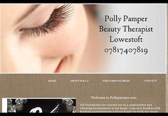 Frontlineweb website designers ,Beauty Therapist lowestoft