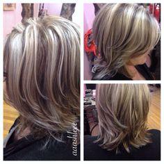 ashy blonde highlights on pinterest