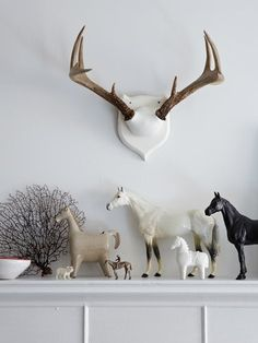 kind of like the horse collection put together like that..