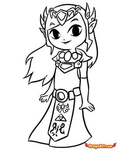 Legend Of Zelda Coloring Pages To Print The Legend Of Zelda
