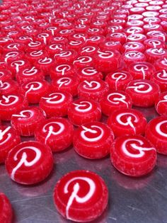 Awesome Pinterest Candy Love made by Myame Studio with the Pinterest logo and sent to the PInterest Team! Check out the amazing video! (Truly a labor of love.) http://myame.jp/ #Pinterest_Candy #Myame_Studio