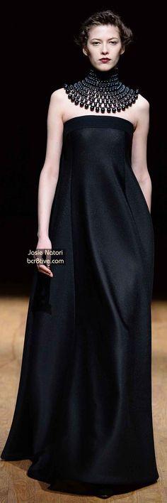 Josie Natori FW 2014 #NYFW