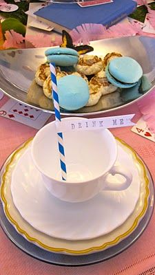 A Little Great: A Little Birthday...An Alice in Wonderland Party