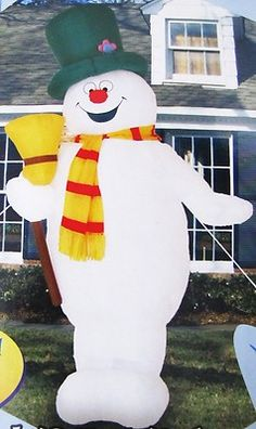 Frosty The Snowman Inflatable On Pinterest Frosty The