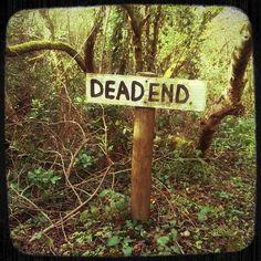 Dead end from @tmthy_dnldsn