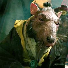 Master Splinter 2014 #tmnt<--- now, he looks really cool!! CANT WAIT FOR THE MOVIE!!!!