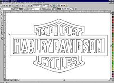 image regarding Flame Stencils Free Printable known as Plasma Cutter Template. no cost printable harley stencils
