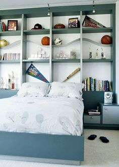 Creative Headboard Bed Ideas for Kids Room