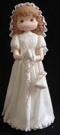 First Communion Cake Topper/ Baptism Cake by PartyFavorsMiami, $35.00