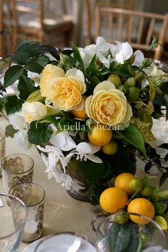 Floral Arranging With Fruit And Vegetables On Pinterest