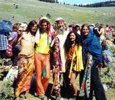 "HISTORICAL... HIPPIE- The hippie movement of the 1960s inspired a style trend which included flowery patterns, flare sleeves and pants, flowy material, bright colors. Called the ""flower children"", hippie values of peace and love were essential in an increasingly globalized society, and they were oftentimes associated with non-violent anti-governmental groups. #DefineMyStyle"