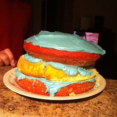 Baking disaster