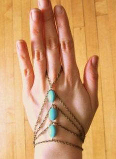 Turquoises Handpiece - Bronze