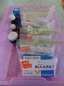 Great ideas for organizing your medicine cabinet!