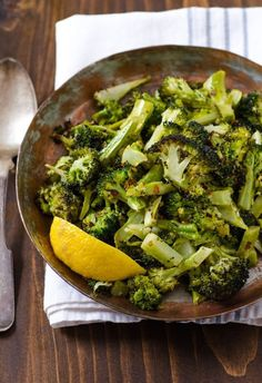 Recipe: Garlicky Roasted Broccoli Quick Side Dish Recipes from The Kitchn | The Kitchn
