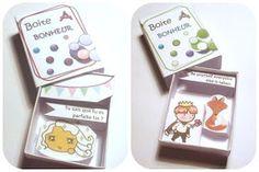 Les boîtes à bonheur pour la Saint-Valentin :-)