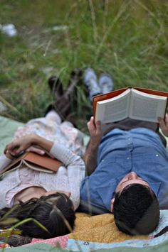 reading aloud to someone you love <3
