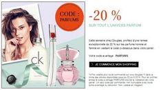 code promo Parfum -20%  - http://www.bons-plans-malins.com/bon-plan-parfum-moins-20-les-parfums-douglas/ #Beauté