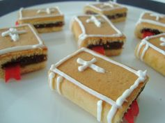 Lose the bible references and these could be quite cute book biscuits.