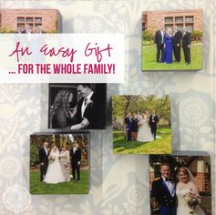 Wooden Picture Blocks - An Easy Gift… for the Whole Family! | Happily Ever After, Etc. - Featured at the #HomeMattersParty 51