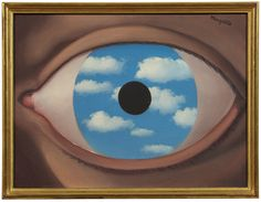 Rene Magritte, Le Faux Miroir. © 2015 C. HERSCOVICI/ARTISTS RIGHTS SOCIETY(ARS),NEW YORK