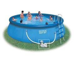 """289 euros le Kit piscine """"Easy Set"""" 5.49 x 1.22 m INTEX (au lieu de 499 euros) / port inclus - http://www.bons-plans-malins.com/289-euros-kit-piscine-easy-set-5-49-x-1-22-m-intex-au-lieu-499-euros-port-inclus/ #Loisirs, #Maison/Deco"""