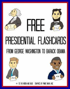 A Presidential Affair {FREE Printables!}