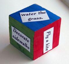 Make an activity dice!