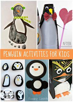 11 {Adorable} Penguin Activities - Kids Activities Blog