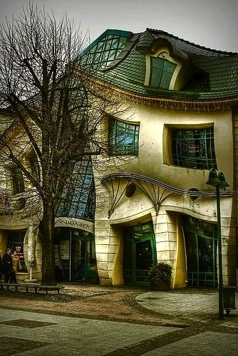 The Crooked House of Sopot, Poland
