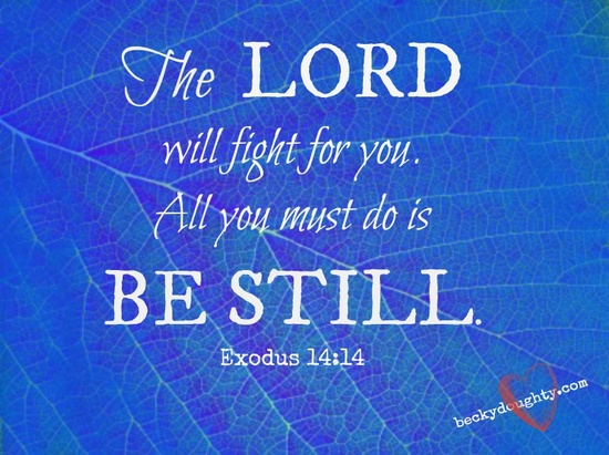 be-still-exodus-14-14