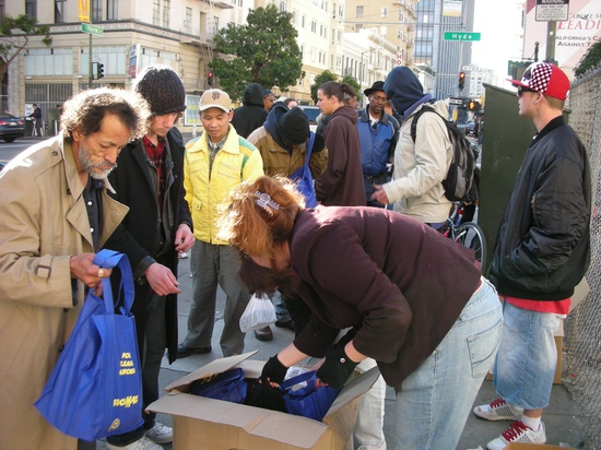 The Homeless Bag Project