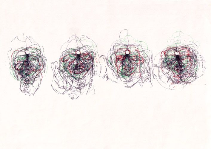 Claude Heath continuous line drawing