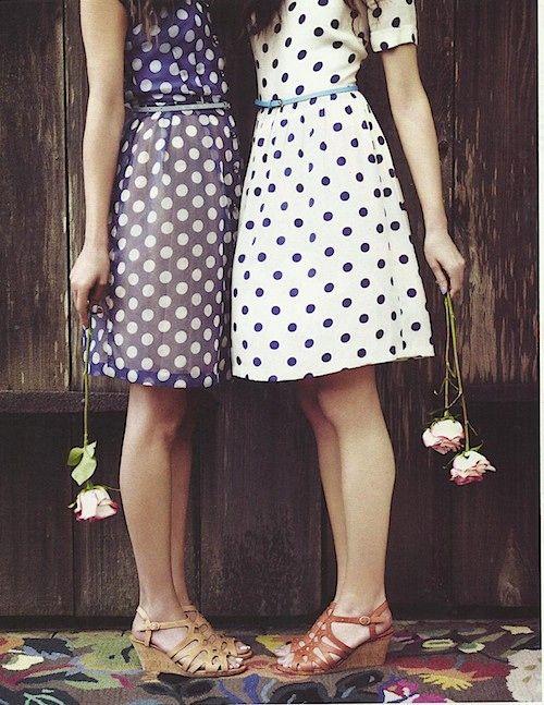 Fabulous dot dresses