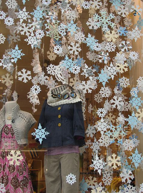 Anthropologie Snowflakes    Winter 2007