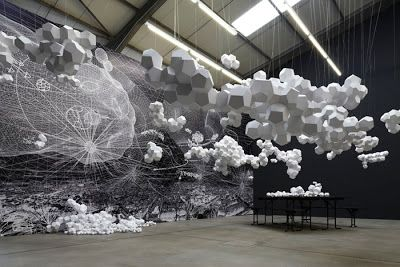 of paper and things: paper arts | paper art installation