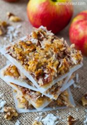 Apple Harvest Squares - A Family Feast