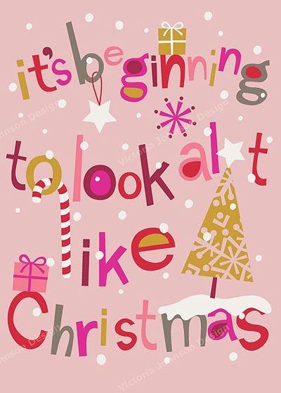 Free Pink Christmas Printable